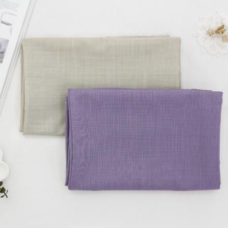 显著聚混纺织物)茉莉(2种)