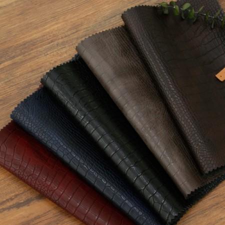 急剧 - 进口人造革织物),软鳄鱼(5种)[TS-20040]