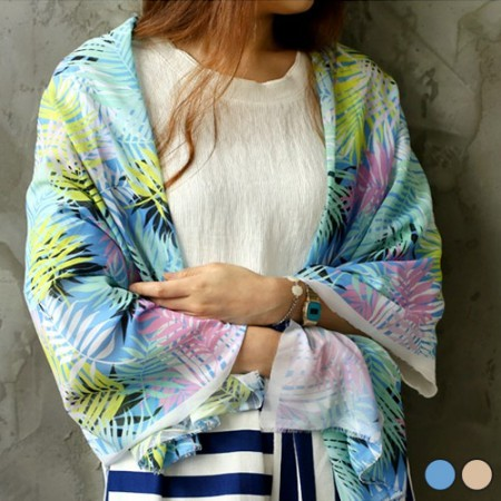 显著 - 雪纺织物)热带礁(2种)