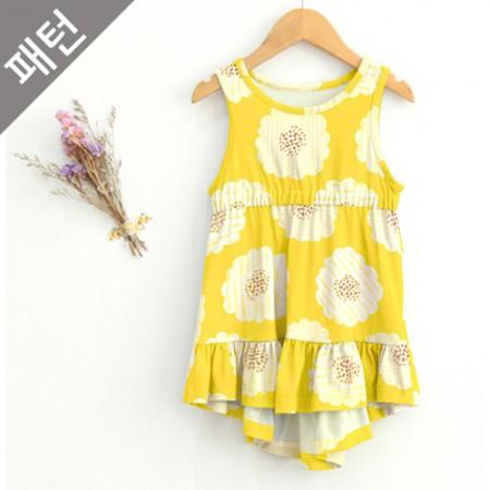 图案 - 儿童)儿童连衣裙[P664]
