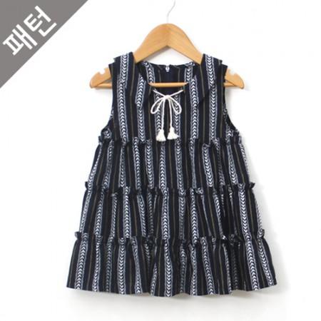 图案 - 儿童)儿童连衣裙[P896]