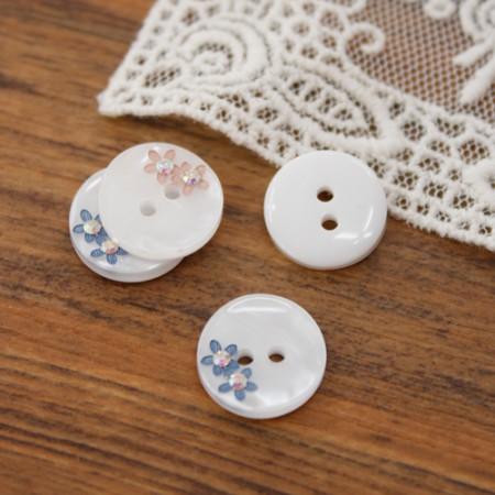 [2个]这里个按钮)13毫米珠宝jankkot按钮(2种)