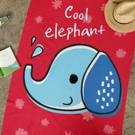第二密度超细纤维运动巾纸)酷大象[005]