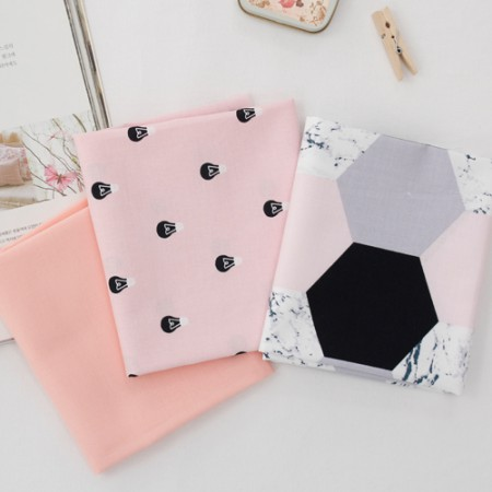 20个可被机织织物)现代粉色(3)