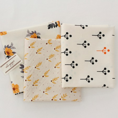 20可被机织织物)秋花香(3)