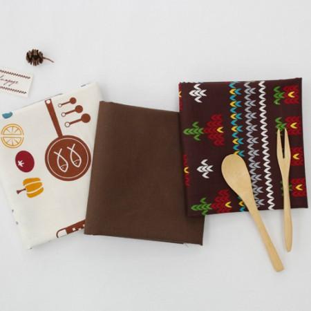 20个可被机织织物)棕色表(3)