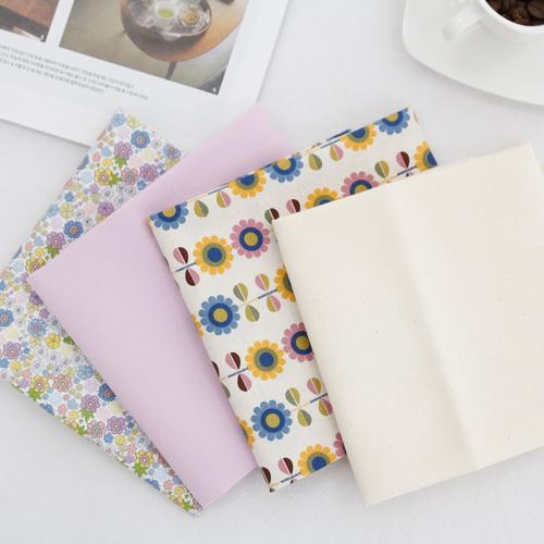 水平表面20 jikcheon织物)紫洛夫(4种)