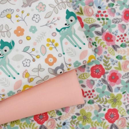20个可被机织织物)可爱鹿(3)