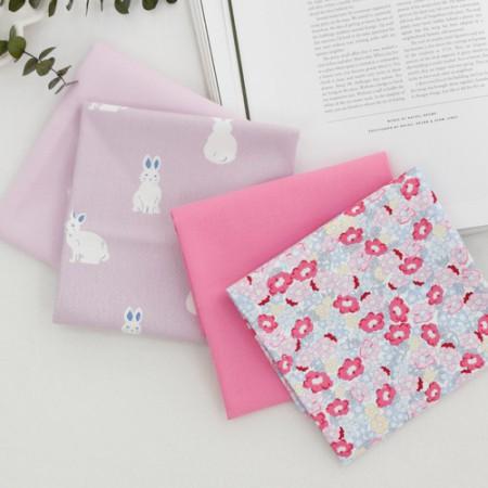 20个可被机织织物)兔秋季(4种)