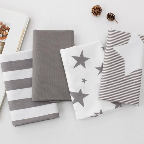 20个可被机织织物)的暖灰色星(4种)