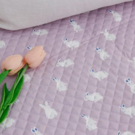 20可被绗缝的织物)拉拉兔
