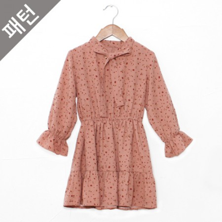 图案 - 儿童)连衣裙[P857]
