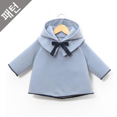 图案 - 儿童)儿童呢子大衣[P847]