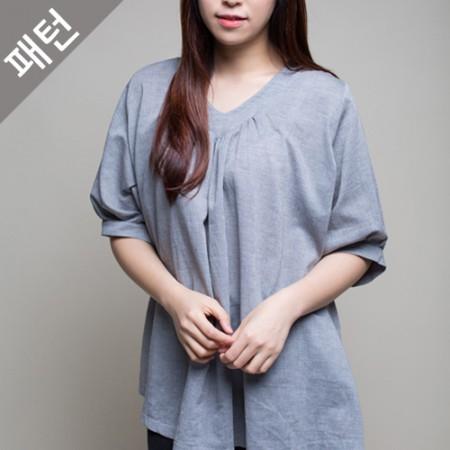 图案 - 女)女女衬衫[P929]