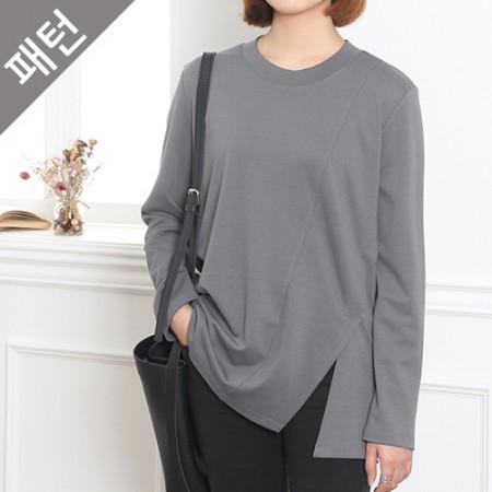 图案 - 女)女式T恤衫[P764]