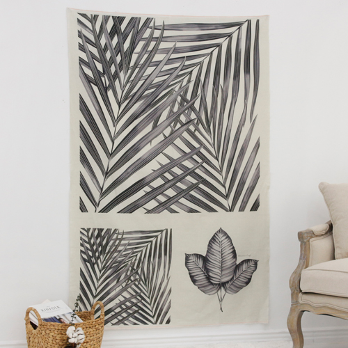 亚麻切纸)植物 - 槟榔树森林