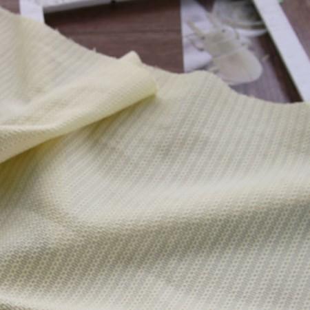 针织衫)边网针织衫(粉黄)