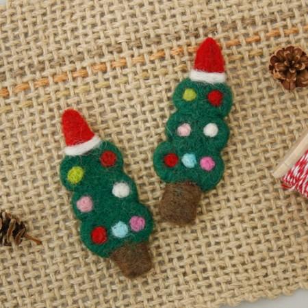 毛毡毛毡圣诞树