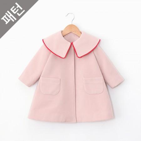 图案 - 儿童)儿童呢子大衣[P824]