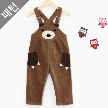 图案 - 儿童)儿童背带裤[P849]