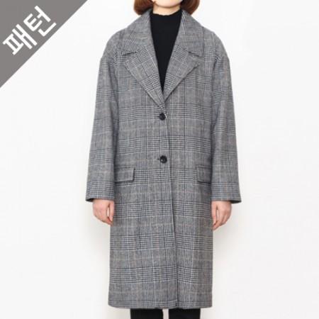 图案 - 女)妇女呢子大衣[P839]