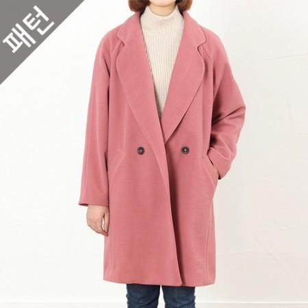图案 - 女)妇女呢子大衣[P798]