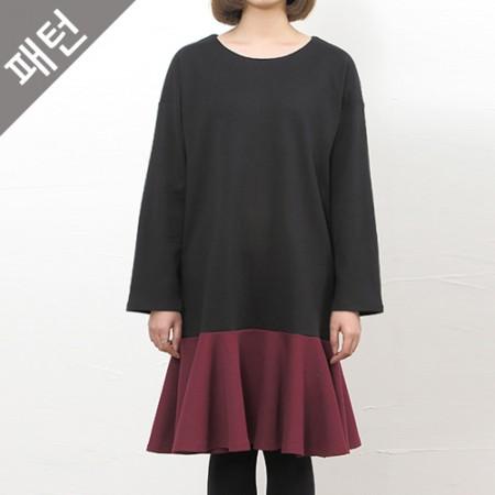 图案 - 女)女装连衣裙[P804]