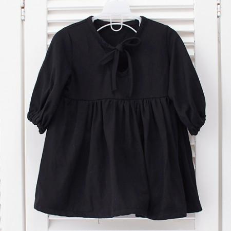 大幅棉+粘胶)黑色西装华达呢 - 纯