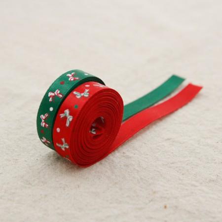丝带胶带迷你丝带丝带10毫米(3麻/ 2种)