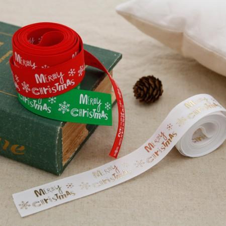菊花丝带织带Merikuri 25毫米(3麻/ 3种)