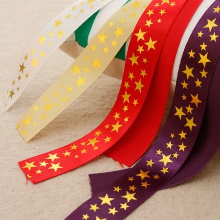 色带胶带领带金丝带缎带25毫米(3麻/ 4种)