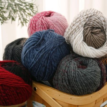 手工纱线室自由羊毛(7种)