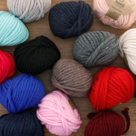 针织纱线天然羊毛(13种)