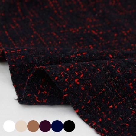 显著 - 羊毛织物)珀尔·特威德(6种)