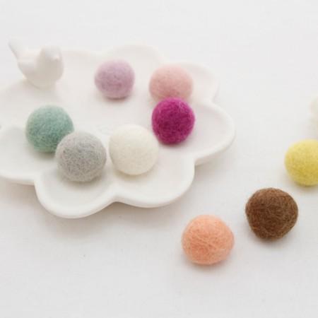 [2个] _2cm羊毛球(10种)