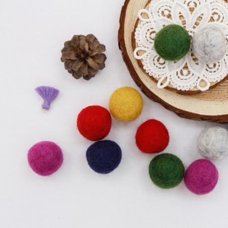 [2个] _3cm羊毛球(6种)