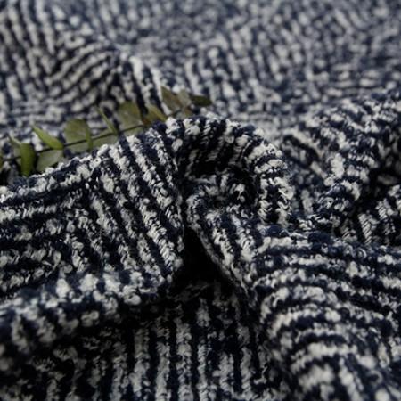 显著 - 羊毛混纺织物)HAERING蓝色