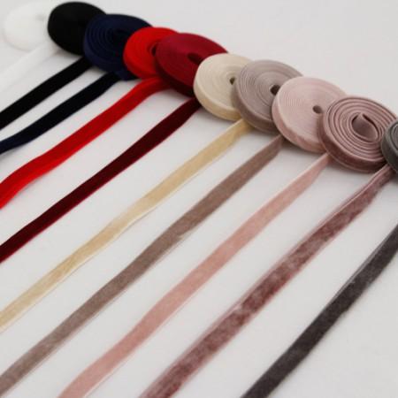 [2麻]部分丝绒色带_10mm(10种)