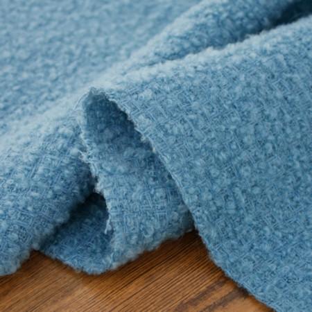显著 - 羊毛混纺)蓝色稳定