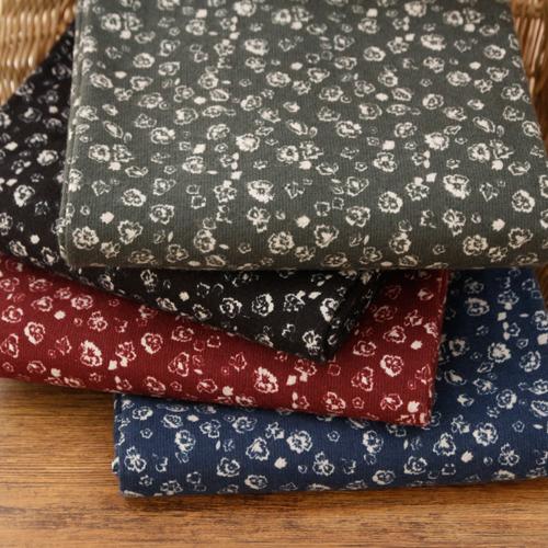 显著 - 拉绒棉织物)象牙花(4种)