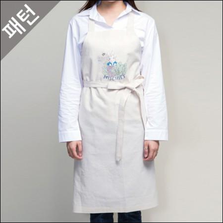 图案 - 女性)围裙[P943]