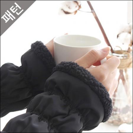 图案 - 道具)暖手和袜套[P960]