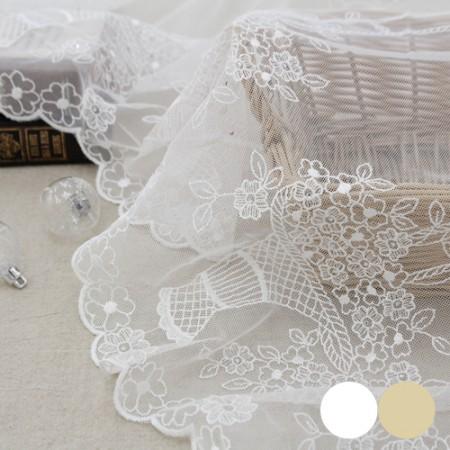 网眼刺绣平衡)立方花篮_70cm(2种)