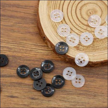 [45个]基本简单的按钮11毫米(2种)
