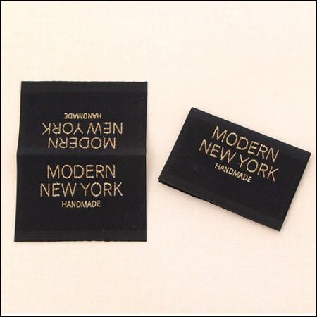[2个] -fit标签)现代纽约双大绣标签[LB013]