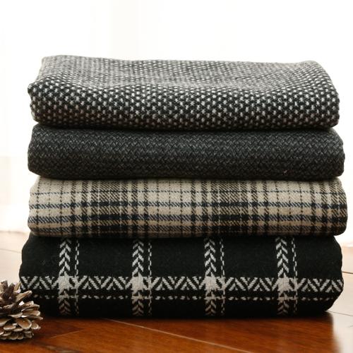 显著 - 羊毛混纺织物)烟熏羊毛(4种)