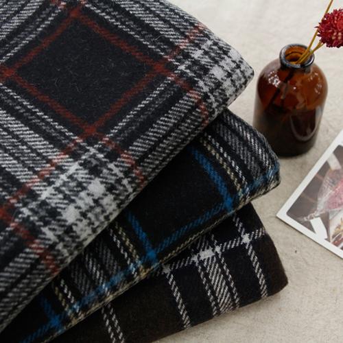 显著 - 羊毛混纺织物)经典格纹(三级)