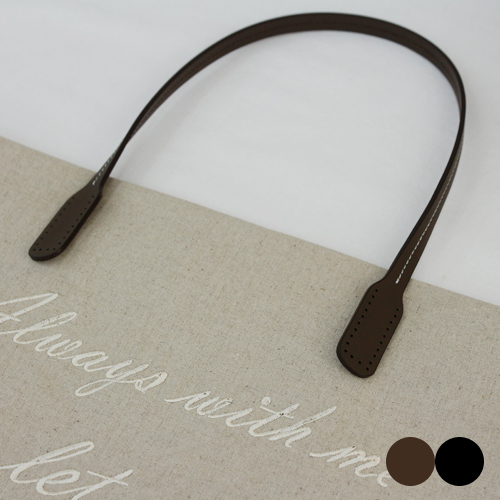 皮包串针脚肩带天然牛皮皮包(2种)