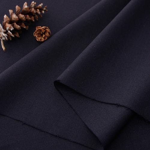 显著 - 真丝羊毛混纺)暗蓝色