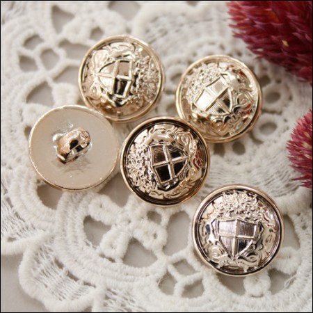 [5个黄铜金属按钮_18mm